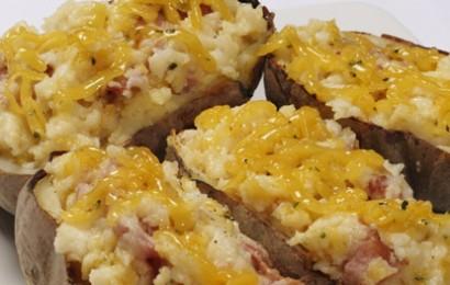 Cotswold Stuffed Potato Skins with Ham & Cheese_1