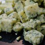Our Blue Stilton is said to have a smooth Creamy texture, even veining and good depth of lasting flavour